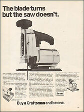 1962 Vintage ad for Craftsman 12 speed Scroller Sabre Saw  052417