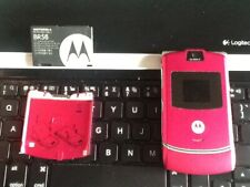 Motorola Razr V3 - Satin pink (T-Mobile) Cellular Phone Open Box