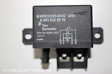 2013 MERCEDES W204 CLASSE C/backup batteria Relè a0035422619