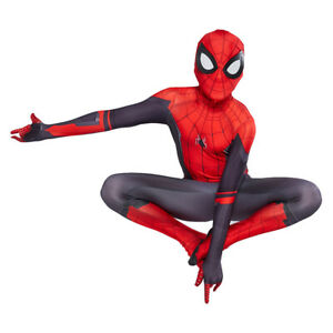 Kids Boys Spider-Man Far From Home Spiderman Zentai Suit Cosplay Costume