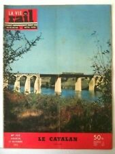 La Vie du Rail  n° 523 Nov. 1955     Le Catalan