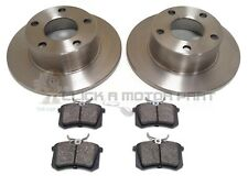AUDI A6 1997-2005 VW PASSAT 1.9 2.5 TDi REAR BRAKE DISCS AND PADS SET NEW