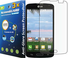 3x Anti-Glare Matte LCD Screen Protector Guard LG F70 Access 4G LTE L31G L31L