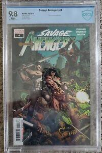 Savage Avengers 4 CBCS 9.8 David Finch Cover Spawn Conan Punisher not CGC