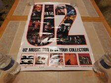 Vintage U2 Album Cover Promo Poster Card 1980s from Northern Cal
