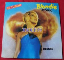 Disques vinyles maxi blondis