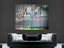JUVENTUS FC POSTER FOOTBALL CLUB ITALY FOOTBALL PICTURE HUGE GIANT SOCCER