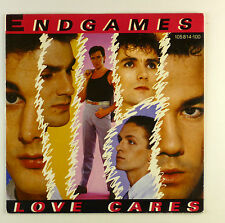 """7"""" Single - Endgames - Love Cares - #S1042 - washed & cleaned"""