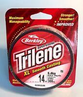 Berkley Trilene XL 14 Lb Test Clear Monofilament Fishing Line (300 YD.)