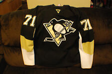 Pittsburgh Penguins Fight Strap Malkin Reebok Hockey Jersey 54