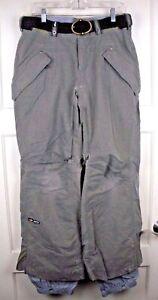 Bonfire Balance Gray Waterproof Snowboard Cargo Pants Women's Size: M