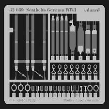 EDUARD MODELS 1/32 Aircraft- Seatbelts German WWI EDU32089