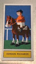 1932 Godfrey Phillips Ltd. Personalities of Today #18 GORDON RICHARDS