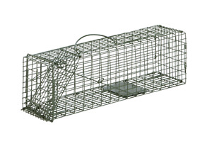 "Duke Cage Live Trap 24""x7""x7"" Trapping Squirrel Rabbit Skunk #1105 Ferral Cat"
