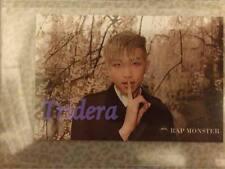 BTS 3rd Mini Album Taiwan ITMFL Pt1 RapMonster Photo Top Loader Plastic Sleeve