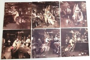 Led Zeppelin Full Set of ALL 6 DIFFERENT In Through The Out Door LP Covers! ITOD