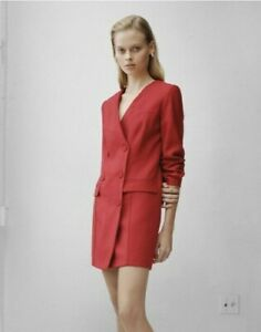 *DFSS* Viktoria & Woods Size 3 (12) Adriatic Blazer Dress Red NWOT