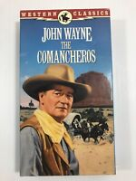 The Comancheros (1961), John Wayne, Stuart Whitman, VHS