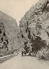 1899 PRINT COLONIAL SOUTH AFRICA ZUURBURG PASS PRINCE ALBERT