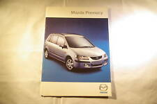 FOLDER BROCHURE MAZDA PREMACY DUTCH