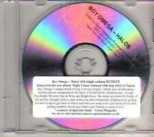 (DH482) Boy Omega, Halos - 2012 DJ CD
