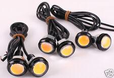6 X 3W LED Eagle Eye Amber Light Daytime Running DRL Tail Backup Light Car Motor