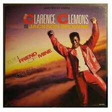 """Clarence Clemons & Jackson Browne """"you 're a Friend"""" 12"""""""