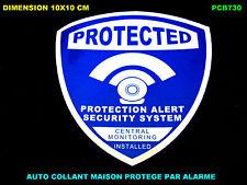 ALARME MAISON / CAMERA PROTECTION / VIDEO SURVEILLANCE / AUTO COLLANT STICKERS