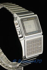 CASIO Databank Calculator Silver Stainless Steel DBC-611-1 Watch 100% Original