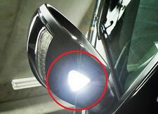 2x White LED Bumper Corner Light Bulbs - NO ERROR For Mercedes W204 5 SMD BRIGHT