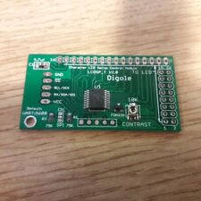 Universal Serial: UART/I2C/SPI testo Display LCD Adattatore V2 per 1602/1602/2002/20