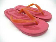 Vans Damen Flip Flops Pink Größe 3.5 UK