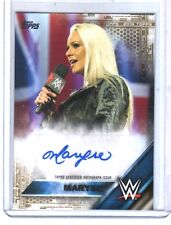 WWE Maryse SD 2016 Topps Then Now GOLD Authentic Autograph Card SN 3 of 10
