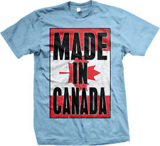 Made In Canada Canadian Flag National Pride World Cup Mens T-shirt