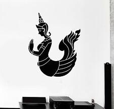Vinyl Wall Decal Kinnaree Hinduism Thailand Thai Stickers Mural (ig4207)