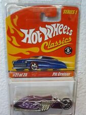 Ice Violet / Purple 2005 HOT WHEELS CLASSICS SERIES 1 - PIT CRUISER #21