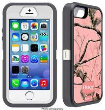 Otterbox Defender iPhone SE iPhone 5 iPhone 5s Case Camo AP Pink *No Belt Clip*