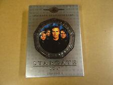 5-DISC DVD BOX / STARGATE SG-1 - SEASON 1