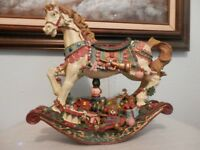 Beautiful Large Christmas Rocking Horse,Made in China