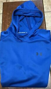 NWOT Under Armour sleeveless hooded sweatshirt size XL blue