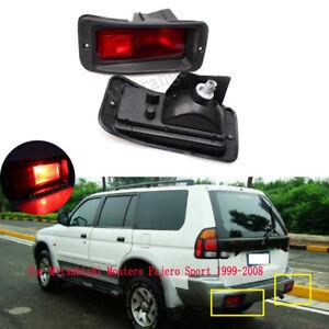 2X For Mitsubishi Montero Pajero Sport 1999-2008 Rear Bumper Tail Lights Lamps