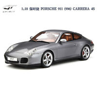 GT SPIRIT 1:18 Scale Car Model PORSCHE 911 (996) CARRERA 4S Grey Limited 999pcs
