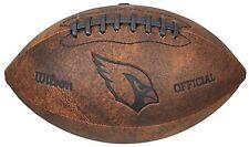 """NFL Arizona Cardinals 9"""" Throwback Football"""