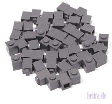 LEGO - 50 x Basic Stein 1x1 dunkelgrau / Dark Bluish Gray Brick / 3005 NEUWARE