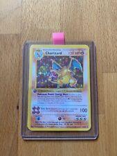 Pokemon Karte Glurak Englisch Base Set 1.Edition Proxy Neu NM