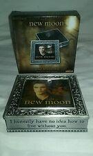 NEW NECA TWILIGHT NEW MOON EDWARD METAL JEWELRY BOX NEW