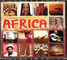 BEGINNER'S GUIDE TO AFRICA - AFRICAN MUSIC 3 CD COMPILATION NEUF ET SOUS CELLO