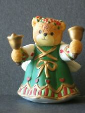 Enesco Lucy and Me - Christmas Bell Bear