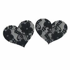 Disposable Pasties Breast Nipple Sticker Adhesive Bra Pad Black Lace love