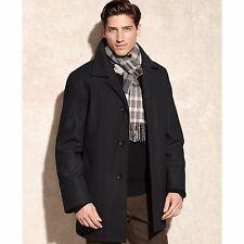 $250 - LONDON FOG Men's ALDEN Wool-blend CAR COAT w/SCARF - M